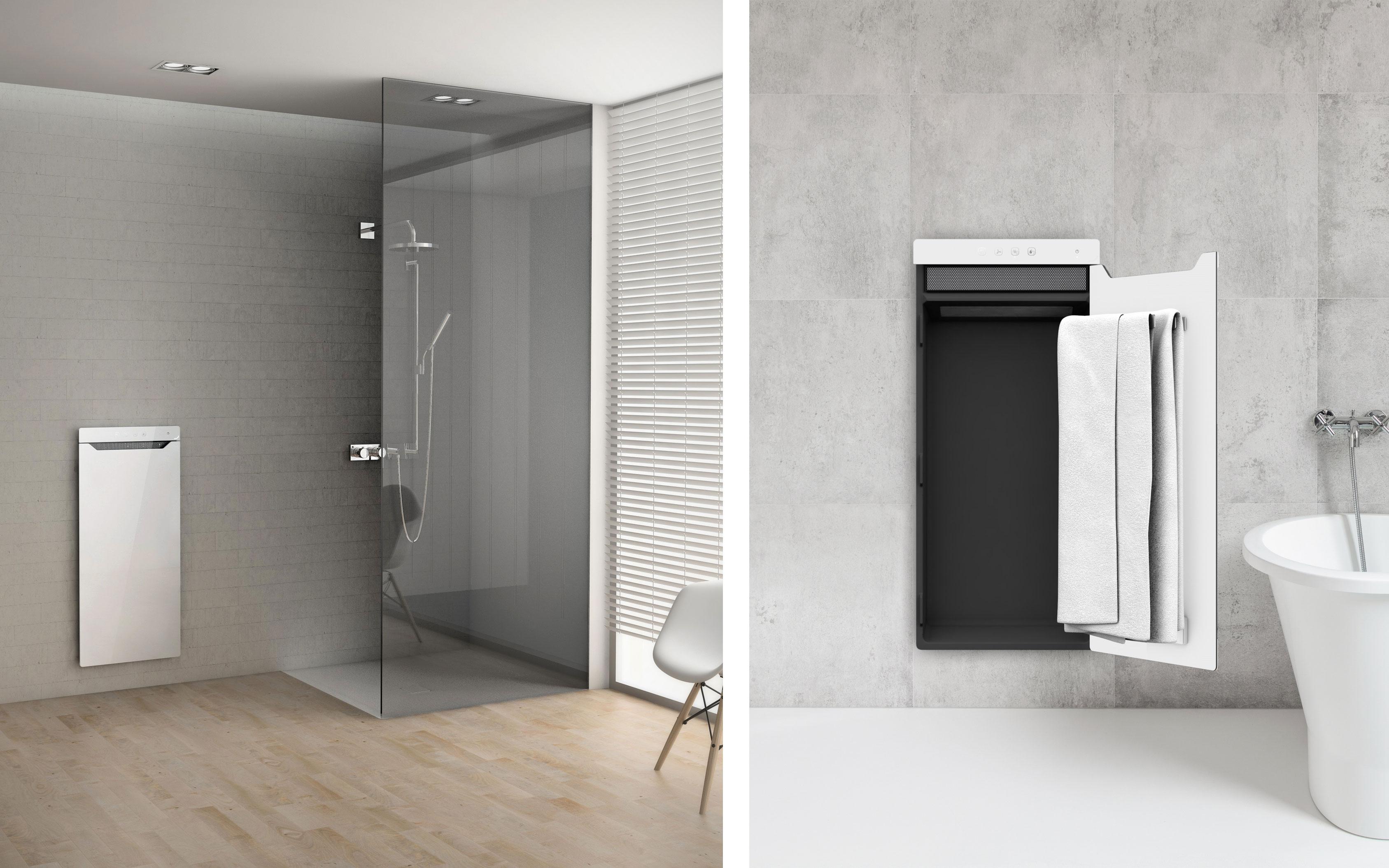 infrarot badezimmer heizung. Black Bedroom Furniture Sets. Home Design Ideas