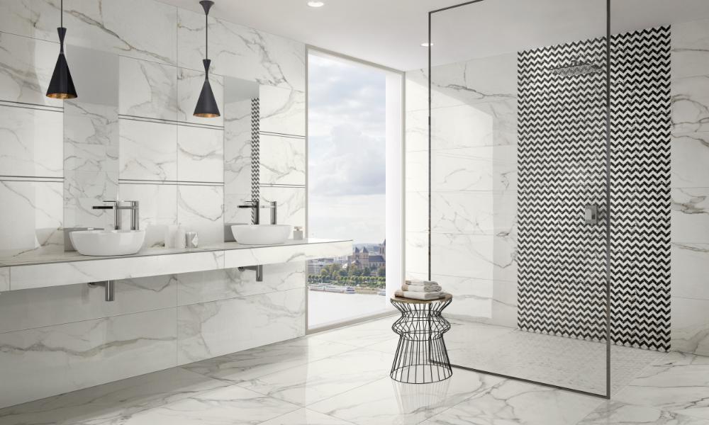 Naturstein-im-Badezimmer | bad & heizung