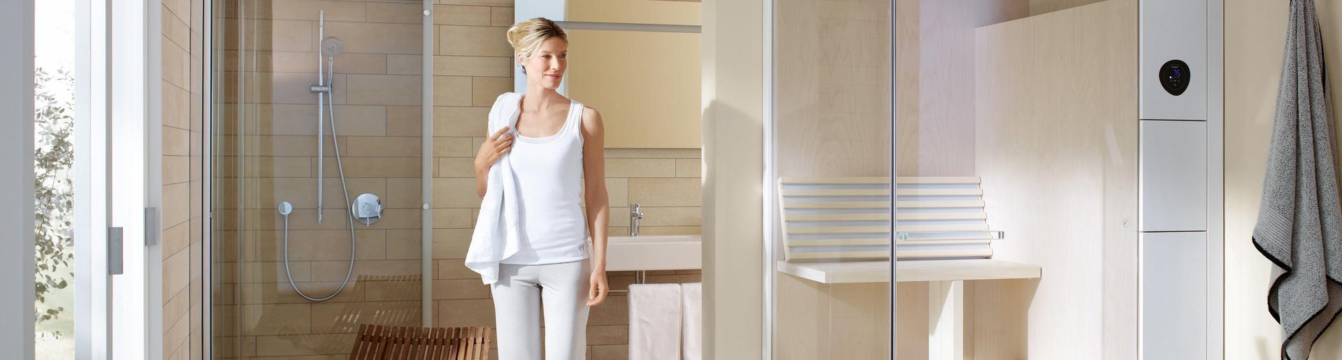Wellness Sauna Bad Heizung